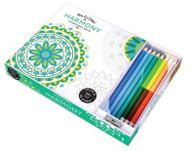 Vive le Color! Harmony (Coloring Book and Pencils)