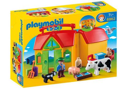 Playmobil - 1-2-3 - My Take Along Farm PMB6962