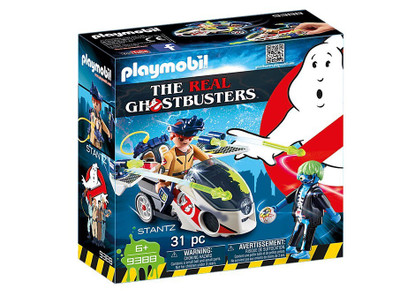 Playmobil - Ghostbusters - Stantz with Skybike PMB9388