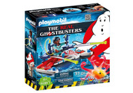 Playmobil - Ghostbusters - Zeddemore with Aqua Scooter PMB9387