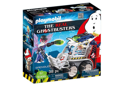 Playmobil - Ghostbusters - Spengler with Cage Car PMB9386