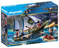 Playmobil - Redcoat Caravel Pirate Ship PMB70412 box