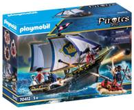 Playmobil - Redcoat Caravel Pirate Ship PMB70412 box
