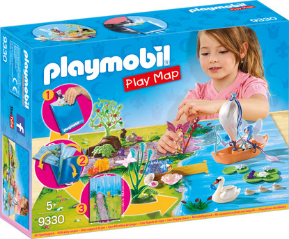 Playmobil - Fairy Garden Play Map PMB9330 boxed