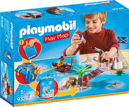 Playmobil - Pirate Adventure Play Map PMB9328