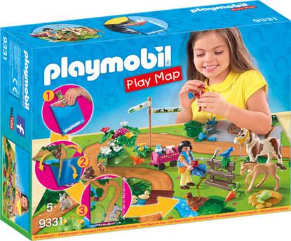 Playmobil - Pony Walk Play Map PMB9331 boxed