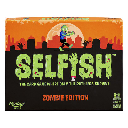 Selfish Zombie Edition Game - Ridley's