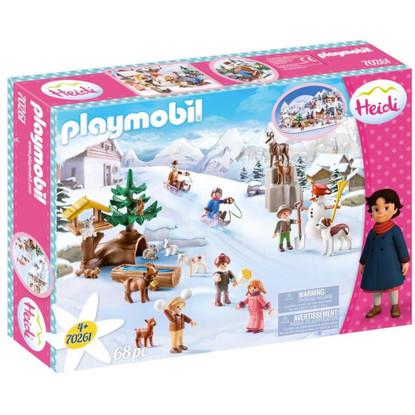 Playmobil - Heidi's Winter Wonderland PMB70261