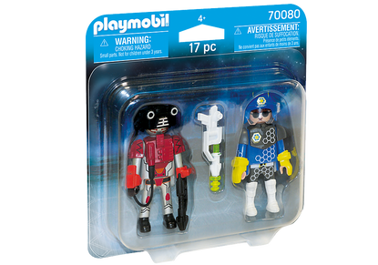 Playmobil - Space Police Officer and Thief PMB70080