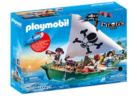 Playmobil - Pirate Ship with Underwater Motor PMB70151