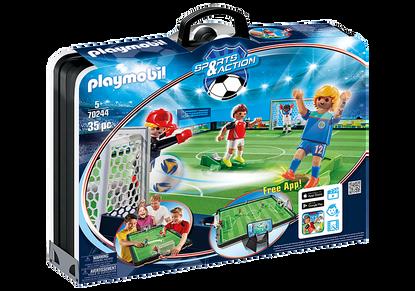 Playmobil - Take Along Soccer Arena PMB70244 (4008789702449)