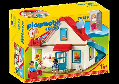 Playmobil 1.2.3 - Family Home PMB70129