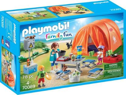 Playmobil - Family Camping Trip PMB70089