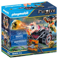 Playmobil - Pirate with Cannon PMB70415