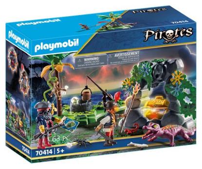 Playmobil - Pirate Hideaway PMB70414