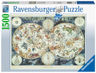 Ravensburger - World Map of Fantastic Beasts 1500 piece RB16003-7 box