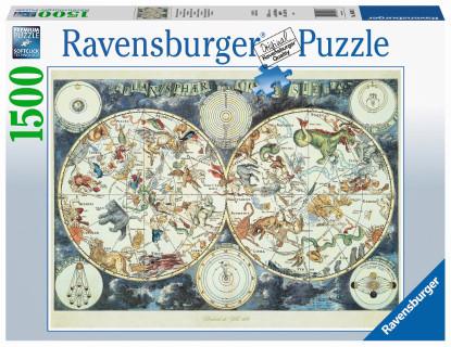 Ravensburger - World Map of Fantastic Beasts 1500 piece RB16003-7 box
