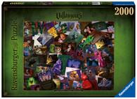 Ravensburger - Disney Villainous The Worst Comes Prepared 2000 Piece jigsaw box