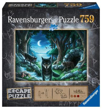 Ravensburger - ESCAPE 7 The Curse of the Wolves 759 piece RB16434-9