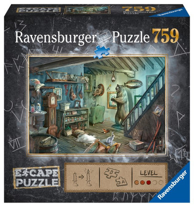Ravensburger - ESCAPE 8 The Forbidden Basement 759 piece RB16435-6