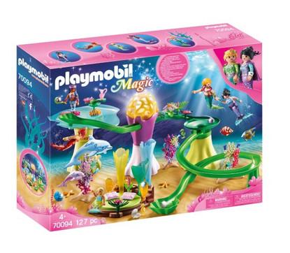 Playmobil - Mermaid Cove with Illuminated Dome PMB70094