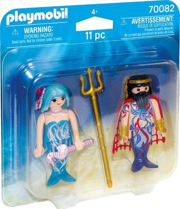 Playmobil - Sea King and Mermaid PMB70082
