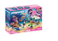 Playmobil - Pearl Shell Nightlight - Mermaid Underwater World PMB70095