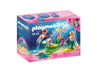 Playmobil - Family with Shell Stroller - Mermaid Underwater World  PMB70100