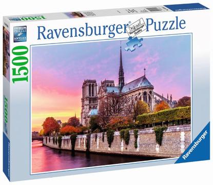 Picturesque Notre Dame Puzzle 1500pc RB16345-8