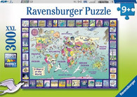 Ravensburger - Looking at the World Puzzle 300pc RB13190-7