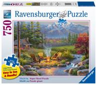 Ravensburger - Riverside Livingroom 750 piece Large Format RB16445-5
