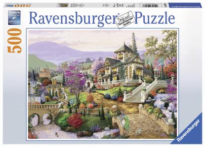 Ravensburger - Hillside Retreat Puzzle 500pc RB14806-6