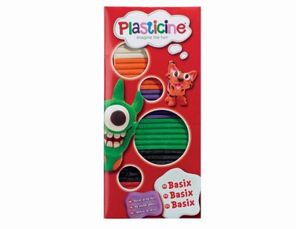 Plasticine - BaSix 6 Plasticine Sticks Starter