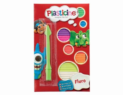 Plasticine - Fluro Plasticine Starter Pack