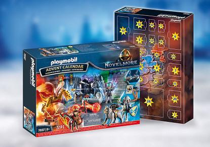 Playmobil - Advent Calendar - Novelmore -Battle for Magic Stone PMB70187