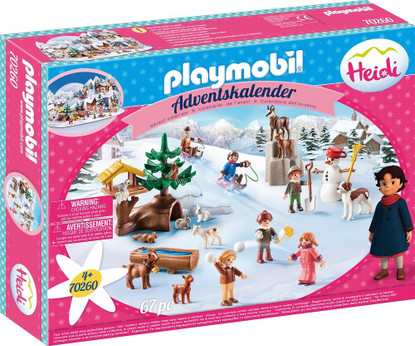 Playmobil - Advent calendar - Heidi PMB70260