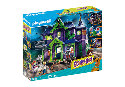 Playmobil - SCOOBY-DOO! Adventure in the Mystery Mansion PMB70361