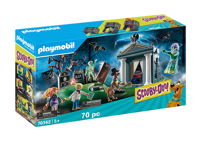 Playmobil - SCOOBY-DOO! Adventure in the Cemetery PMB70362