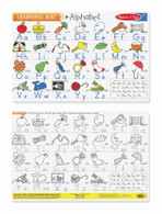 Melissa & Doug - Learning Mats - Alphabet