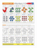 Melissa & Doug - Learning Mats - Numbers 1-10