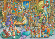 Ravensburger - Midnight at the Library 1000pc RB16455-4  Jigsaw Puzzle