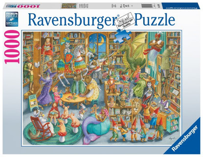 Ravensburger - Midnight at the Library 1000pc RB16455-4