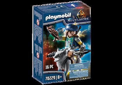 Playmobil - Novelmore Crossbowman with Wolf PMB70229