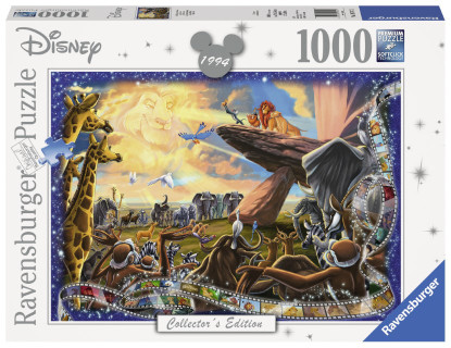 Ravensburger - Disney Moments Lion King 1994 1000 piece RB19747-7