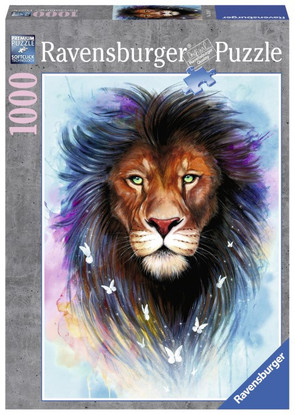 Ravensburger - Majestic Lion Puzzle 1000 piece RB13981-1
