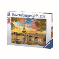 Ravensburger - The Banks of the Seine Puzzle 1000 piece jigsaw puzzle RB15168-4