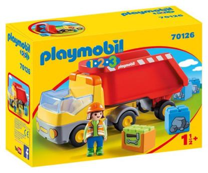 Playmobil - 1.2.3 Dump Truck PMB70126