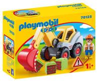 Playmobil - 1.2.3 Shovel Excavator PMB70125