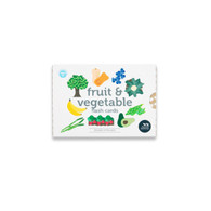 Fruit and Vegetable Flash Cards (Boxed) - Two Little Ducklings