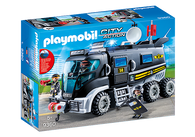 Playmobil - SWAT Truck PMB9360 (4008789093608)